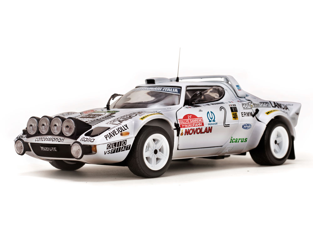 LANCIA STRATOS HF Tony//M.Mannini Winner 1979 Rallye Sanremo 1:18 Sun Star 4510