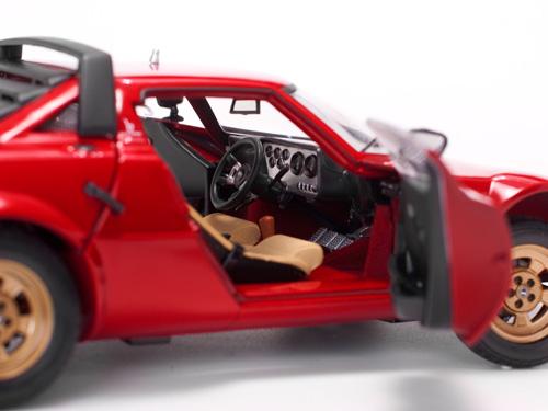 1:18 Sunstar Lancia Stratos Stradale 1975 red